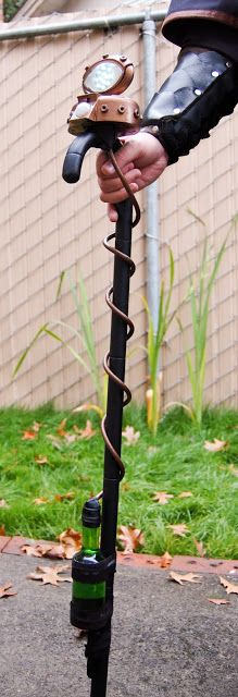 Steampunk Cane : Sew Creative: Steampunk, a truly cool aesthetic