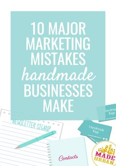 It will be hard to drive sales to your online shop if you're making these marketing mistakes. Click to find out what they are...