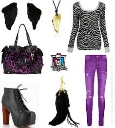Clawdeen Wolf (Monster High) inspired outfit