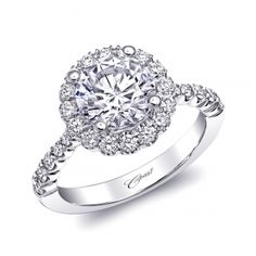 Engagement ring #LC10037-100 - Coast Charisma Collection - Coast Diamond Bridal Engagement Ring Collections