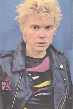 1980s •~• Billy Idol