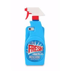 Moschino Fresh iPhone 6 Case (130 CAD) ❤ liked on Polyvore featuring accessories, tech accessories and moschino