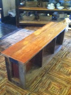 Barnwood entry hall bench/storage, from $225 and up