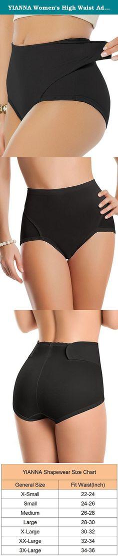 bdb98c19d1368 YIANNA Women s High Waist Adjustable Belly Wrap Postpartum Control Panties  Slimmer Shapewear Briefs