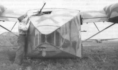 """Transport and assault gliders """"Gotha"""" Go 242 were used for the delivery of goods surrounded by groups of the Wehrmacht"""