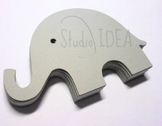 Grey large Elephant Cut Elephant cut by StudioIdea Elephant Cut Out, Elephant Size, Elephant Theme, Grey Elephant, Colour List, W 6, Party Items, Pink Grey, Color Mixing