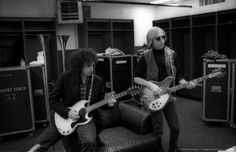 Mike Campbell and Tom Petty || I LOVE TOM'S GLASSES. :D