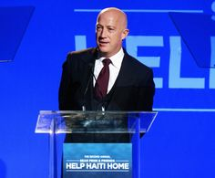 Bryan Lourd Photos Photos - Co-Chairman of Creative Artists Agency Bryan Lourd speaks onstage during the 2nd Annual Sean Penn and Friends Help Haiti Home Gala benefiting J/P HRO presented by Giorgio Armani  at Montage Hotel on January 12, 2013 in Los Angeles, California. - 2nd Annual Sean Penn And Friends Help Haiti Home Gala Benefiting J/P HRO Presented By Giorgio Armani - Inside