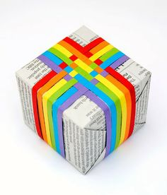 cute gift box wrapping idea