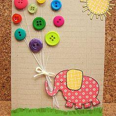 Ideias de decoração com botões.