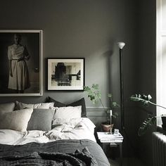 I love travelling but I love coming home even more. Interior, Home Bedroom, Bedroom Interior, Home Decor, Charcoal Bedroom, Room Inspiration, Bedroom Inspirations, Apartment Decor, Bedroom Layouts