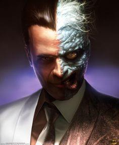 Two Face by ~james-face on deviantART