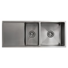 Kitchen Sink if we change brands want to make sure internal corners are rounded to make cleaning easier, and we want the 2 sink layout with one small one. Principal Inset Sink with Drainer 1.5 Bowl