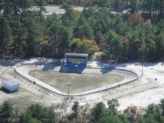 RC race track in the New Jersey pine barrens.