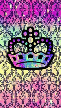 Crown damask galaxy wallpaper I created for the app CocoPPa. Cocoppa Wallpaper, Galaxy Wallpaper, Cool Wallpaper, Phone Backgrounds, Wallpaper Backgrounds, Cute Wallpapers, Damask, Art Drawings, Girly
