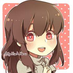 KyoBlack_Haru - My MC and her pink cute eyes ///////  vvv Edit CG...