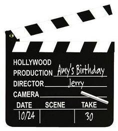 Director Table para  Numeros de Mesa o Centros de Mesa al estilo Hollywood