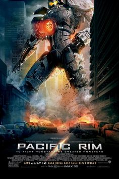 Guillermo del Toros Pacific Rim stars Charlie Hunnam, Idris Elba, Rinko Kikuchi, Charlie Day and Ron Perlman in a sci-fi smackdown of robots versus monsters. Movies And Series, Hd Movies, Movies Online, Movie Tv, Movie Shelf, Movies 2014, Movies Free, Cinema Movies, Watch Movies