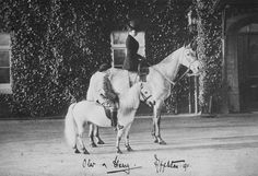 Queen Maud of Norway with Crown Prince Olav - 1911