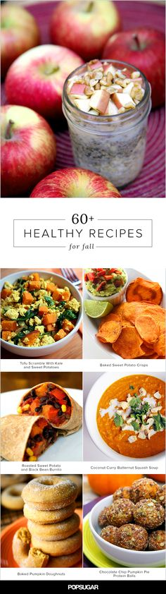 60 recipes celebrating the flavors of Fall. Go find your fave!