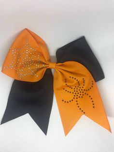 Halloween Cheer Bows trick or treat bows cheer bows holiday bows by TheBowShops on Etsy https://www.etsy.com/listing/558142999/halloween-cheer-bows-trick-or-treat-bows