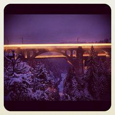 """@suesskindsgd's photo: """"RhB#graubuenden#graubünden#rhätische#bahn#switzerland#viadukt#solis#reisen#"""""""