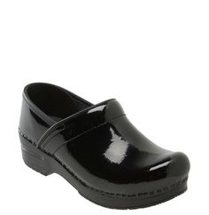 Dansko 'Professional' Patent Leather Clog ...terrific for travel, particularly if it rains.