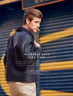 Matt Trethe y Silviu Tolu para ELLE Man México Fall/Winter 2015 - Male Fashion Trends