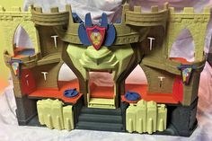 Lion's Den Castle Battle Castle Fisher Price Imaginext  Toy - Works! #FisherPrice