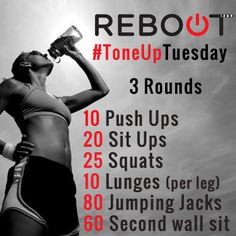 Crossfit, quick home workout for the days you can't hit the gym! #crossfit #Workout #exercise #motivation