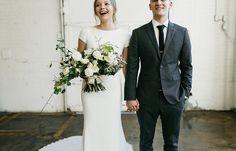Image 10 - David + Jenna: A minimalist warehouse wedding in Real Weddings.