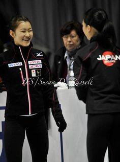 Kanako Murakami and Akiko Suzuki(JAPAN) : World Figure Skating Championships 2013 in London(CANADA)