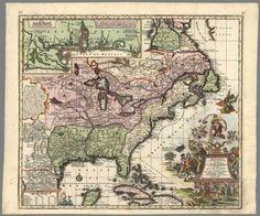 David Rumsey Historical Map Collection | Accurata delineatio celeberrimae Regionis Ludovicianae vel Gallice Louisiane, 1720