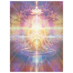 Image Yoga, Art Visionnaire, Arte Indie, Les Chakras, Healing Light, Spirited Art, Visionary Art, Oracle Cards, Sacred Art