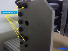 Cnc Projects, Projects To Try, Diy Cnc, Milling Machine, Detail