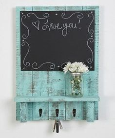 Pallet Projects: Another great find on #zulily! Three-Hook Message ...