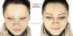 Фото татуажа до и после — Студия татуажа в СПб Ильдара Бикбова TATTOO ARTIST