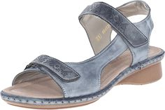 Rieker Women's Reanne 56 by Remonte Sandals ^^ You can get additional details, click the image : Wedge sandals