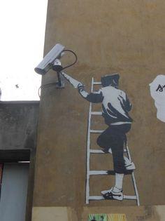 Surveillance Graffiti