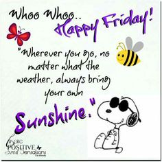 Error happy friday friday qoutes and weekend greetings friday weekend happy friday peanuts gang good morning daily quotes wise words grief snoopy encouragement m4hsunfo