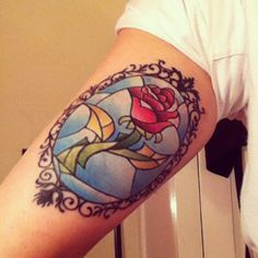 Beauty and the Beast tattoo. Love Love Love