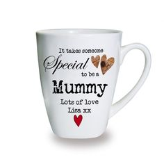 Personalised Someone Special Latte Mug Valentines Day Gift Ideas
