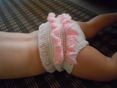 Luv Boopa: Crochet Ruffle Baby Bloomers