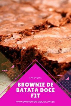 Brownie receita,brownie fit receita, brownie simples receita, brownie de batata doce, brownie de batata doce fit,brownie de batata doce receita.