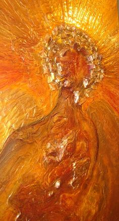 30''x48'' ''Recycled Angel''Available at Delphia Dreams 41 Spring Street Eureka Springs, AR 72632 (479) 253-8483