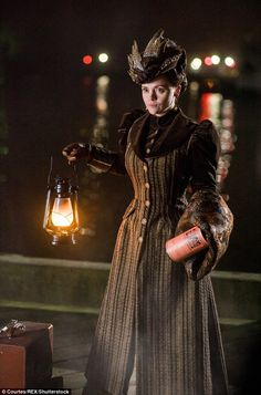"""Christina Ricci in """"The Lizzie Borden Chronicles"""", Series costume design by Joseph A. Victorian Gown, Victorian Costume, Victorian Gothic, Christina Ricci, Christina Aguilera, Edwardian Clothing, Historical Clothing, Historical Dress, Edwardian Era"""