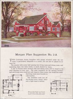 Brick Chicago-style Bungalow - 1923 Morgan - Building with Assurance - No. 2-A