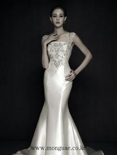 결혼식#여자패션#wedding dress#몽유애웨딩#monguae wedding#korea wedding dress#몽유애 본식드레스#청담동 17-8번지#www.monguae.com#02-541-8575