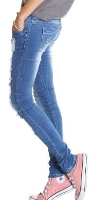 perfect skinny jeans. like this!