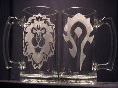 World of Warcraft Alliance or Horde by WastedTalentDesigns on Etsy, $10.00